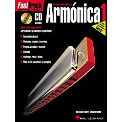 Fast Track Armonica 1 Harmonica (Book/Cd Spanish Edition) (Fast Track (Hal Leonard))