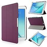 iHarbort® Samsung Galaxy Tab S2 9.7 Funda - ultra delgado ligero Funda de piel de cuerpo entero para Samsung Galaxy Tab S2 9.7 T810 , con la función del sueño / despierta (Galaxy Tab S2 9.7, púrpura)