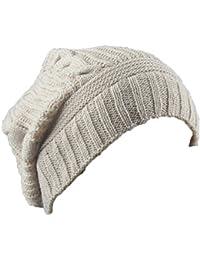 Amazon.es  gorro orejeras - Beige   Gorros de punto   Sombreros y ... be6d14fa51c