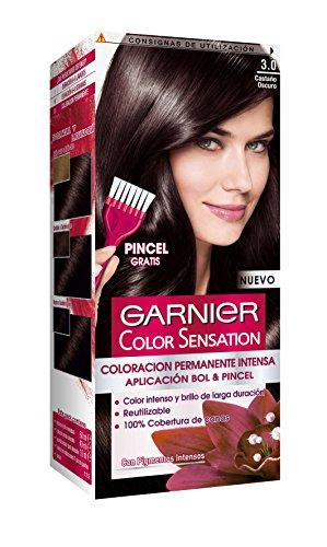 Garnier Color Sensation Coloración Nº3.0 Castaño Oscuro - 200 gr