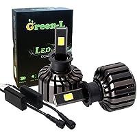 green-l LED lampadine per fari All-in-One Kit di conversione H1H49000LM 90W bianco freddo 6000K cree–2anni di garanzia