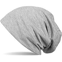 3e0faad5c4b6fa styleBREAKER klassische Slouch Beanie Mütze, leicht und weich, Longbeanie,  Unisex 04024018