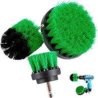 taladro cepillo Attachment Kits, 3 pieza Cepillo de limpieza eléctrico para multiusos, cerda de