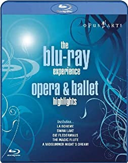 The Blu-Ray Experience : Opéra & Ballet [Blu-ray] [Import anglais] (B001HBX91S) | Amazon Products