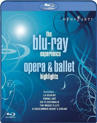 The Blu-Ray Experience : Opéra & Ballet [Blu-ray] [Import anglais]