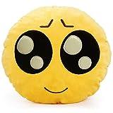 minifamily® 32cm Emoji-Kissen Smiley Emoticon Kissen gefüllt