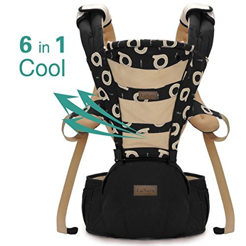 c3c92156c3e LANOVA The Best Baby Sling Carrier Can Wrap Both Front and Back