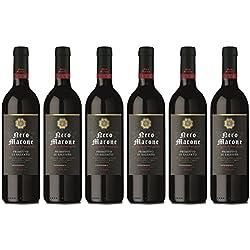 Nero Marone - Primitivo di Salento IGT - Vin d'Italie - Lot de 6