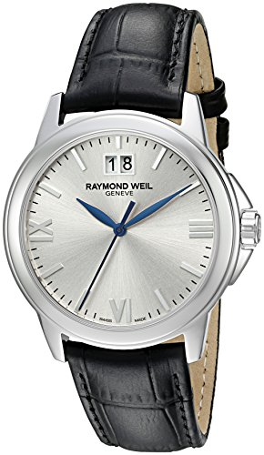 raymond-weil-watches-herren-armbanduhr-xl-tradition-analog-quarz-leder-5476-st-00657