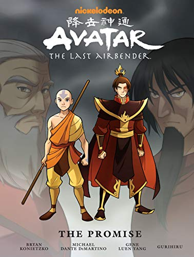 The Avatar's adventures continue right where the TV series left off, in this beautiful oversized hardcover of The Promise, from Airbender creators Michael Dante DiMartino and Bryan Konietzko and Eisner and Harvey Award winner Gene Luen Yang! Aang and...