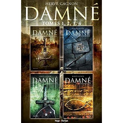 Coffret Damné - tomes 1,2,3,4