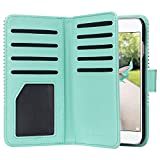 ULAK iPhone 7 Case, iPhone 7 Case Premium Synthetic Leather 9 Card Slots