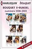 Bouquet e-bundel nummers 3336 - 3343 (8-in-1) (Dutch Edition)