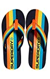 Superdry Trophy Flip Flop, Infradito Uomo, Multicolore (Dark Navy/Fluro Orange/Bright Y2a), 44/45 EU