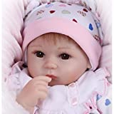 "NPK 45cm Wahres Leben Reborn Baby Dolls 18"" Soft Silikon Vinyl Reborn Lebensecht Neugeborenes Baby Spielzeug Geschenk Bebe"