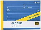 Idena 314261 - Quittungsblock DIN A6 selbstdurchschreibend