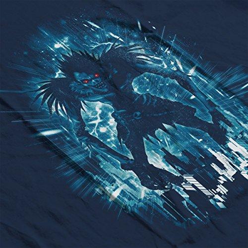 Death Note Ryuk Loves Big Apples Men's Vest Navy Blue