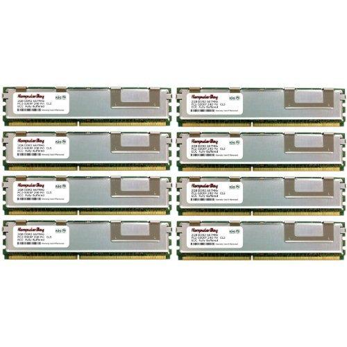 Komputerbay 16GB 8x 2GB DDR2667MHz PC2-5300ECC FB Dual Rank 2Rx4Voll gepufferter Speicher RAM - Fb, Voll Gepuffert