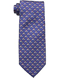 Tommy Bahama Men's Holiday Marlin Tie, Navy, One Size