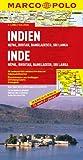 MARCO POLO Kontinentalkarte Indien, Nepal, Bhutan, Bangladesch, Sri Lanka 1:2,5 Mio. (MARCO POLO Kontinental /Länderkarten) -