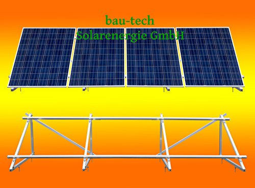 Pv-modul (PV Solar Unterkonstruktion Aufständerung für 4 Module von bau-tech Solarenergie GmbH)