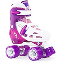 SFR Skates Storm II Patines, Unisex Niños, Rosa, 30.5-34