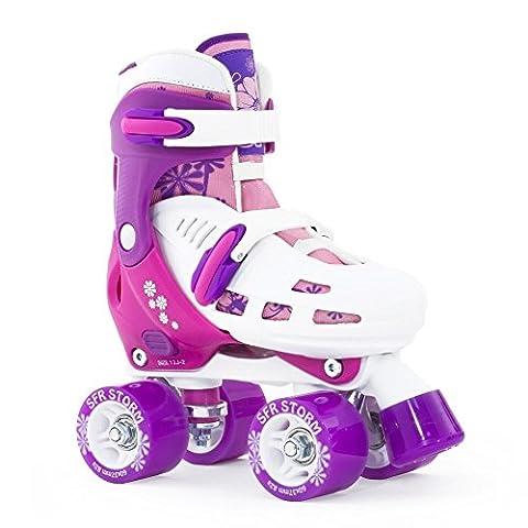 SFR Storm II Quads verstellbare Rollschuhe Kinder pink pink, 35.5-39.5