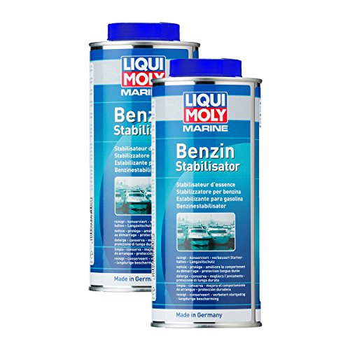 Preisvergleich Produktbild 2x LIQUI MOLY 25008 Marine Benzin-Stabilisator 500ml