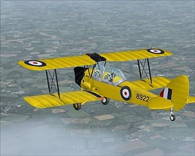 Tiger Moth Add-On for FS 2004/FSX (PC DVD)