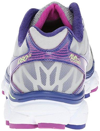New Balance W1080 B V5, Chaussures de running femme Argent (Sp5 Silver/Purple)
