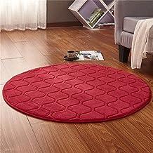 QAZ Angenehm Weiche Teppich Teppich Modernen Einfachen Kreisförmigen  Teppich Wohnzimmer Couchtisch Sofa Teppich Schlafzimmer Bett Farbe