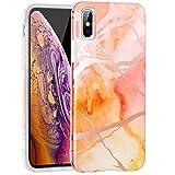 ZUSLAB Coque iPhone XS Max, [Doux TPU] Modèle en Marbre Silicone, Anti-Choc...