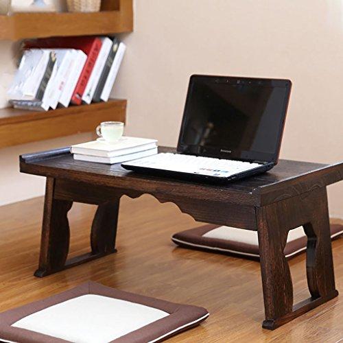 Laptop-Schreibtisch, beweglicher faltbarer Studien-Schreibtisch, hölzerner Notizbuch-Schreibtisch, einfacher Computer-Schreibtisch, für Bett oder Sofa ( größe : 60*34*27cm )