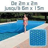Linxor France ® Bâche à bulles sur mesure 300 microns/70 tailles disponibles/Norme CE