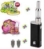 Premium Geschenkset iStick Starterset E-Zigarette i Stick Elektro Zigarette Komplettset SC mit Edel-Sorten Liquid von American Stars ohne Nikotin 00 mg