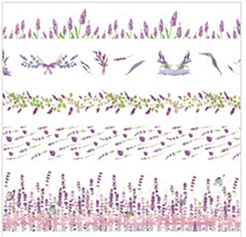 Winter Dong 10 Rollen Washi Tape Set - 10mm breit, Bunte Ocean Style Design, dekorative Masking Tape für DIY Craft Scrapbooking Geschenkpapier