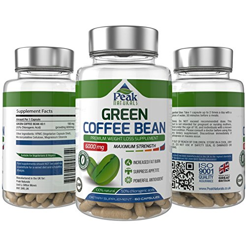 1-Strongest-and-Most-Effective-Green-Coffee-Bean-For-Weight-Loss--6000mg-Maximum-Strength-Pure-Green-Coffee-Bean-Extract-with-GCA--50-Chlorogenic-Acid--Full-30-Day-Supply--Lose-Weight-Fast--Proudly-Ma