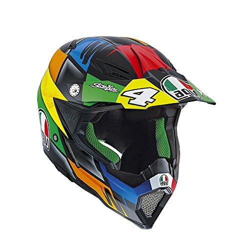 AGV Helmets Casco integral 8 EVO E2205 Replica (Chareyre), Multicolor, talla S