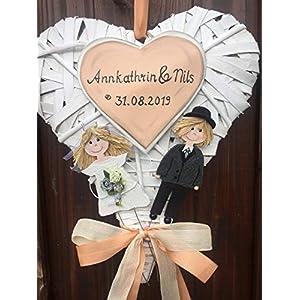 Türkranz/Herz zur Hochzeit