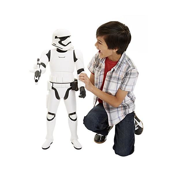 Star Wars: El Despertar de la Fuerza - Stormtrooper, Figura de acción, 78 cm (Disney 90830-EU-PLY) 6