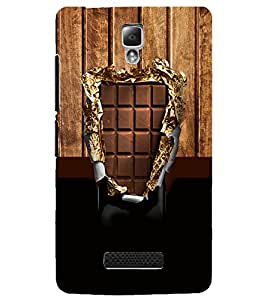 PrintDhaba Chocolate D-3576 Back Case Cover for LENOVO A2010 (Multi-Coloured)