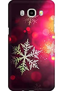 AMEZ designer printed 3d premium high quality back case cover for Samsung Galaxy J5 (2016) (Christmas bokeh holiday pattern)
