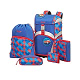 Sammies by Samsonite Ergonomic Schulranzen-Set 5-tlg Funky Blue 01 funky blue