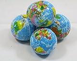 Knautschball Softball Globusball ca 6 cm Ball Geschenkartikel 12 Stück 59427