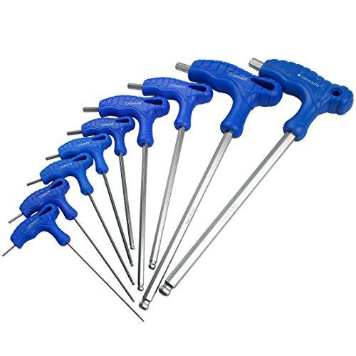 ntschlüssel Fluch Schraubenschlüssel Metrisch Satz mit T-Griff NLJBS-06 (1.5-10mm) ()