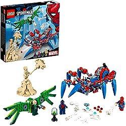 Super Heroes Lego Crawler di Spider-Man, Colore Costruzioni, 76114