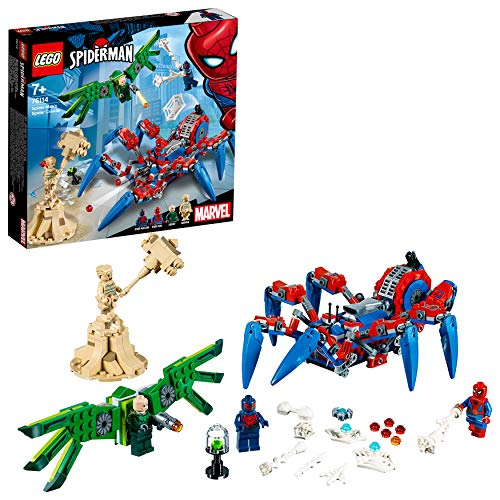 Lego 76114 Super Heroes Spider-man Spider Crawler Building Set, Marvel Toy Vehicles For Kids