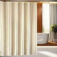Salón Cortinas cortinas del dormitorio moho gruesa cortina de baño de poliéster impermeable cortina de ducha cortinas de baño cortinas de algodón de cortina continental ( Tamaño : 180**220CM )