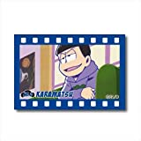 Osomatsu san Tin Square Cans Badge part2 B From Japan NEW