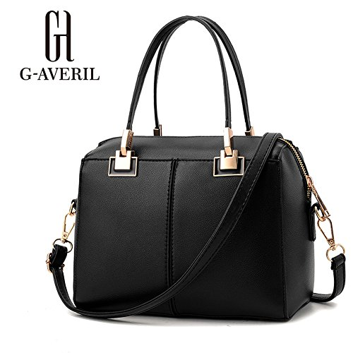 G-AVERIL, Borsa a mano donna Wine red Black